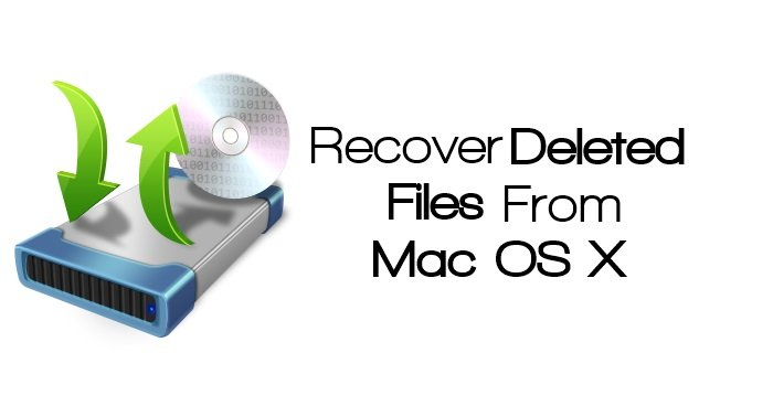 Recover Deleted Data