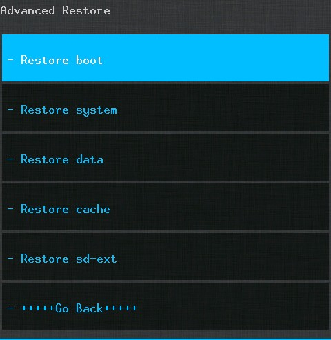 Restore Previous Rom If Your Device Got Bricked