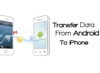 Transfer Entire Data From Android To iPhone
