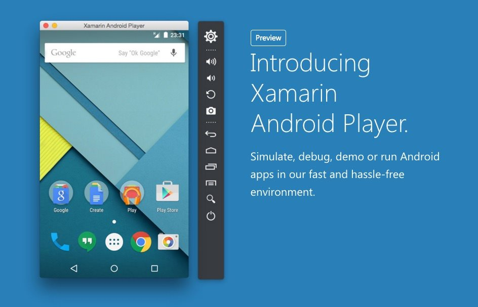 Xamarin Android Player for MAC