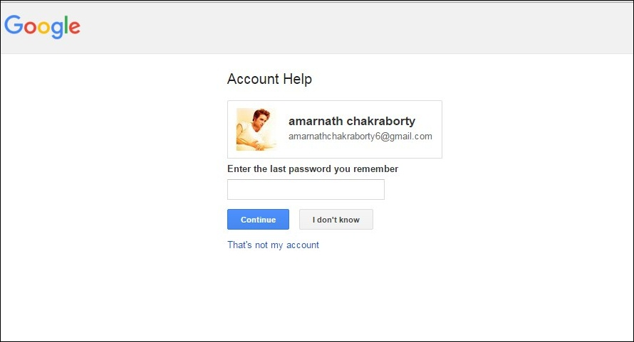 Checking Validation Of Gmail Email Account