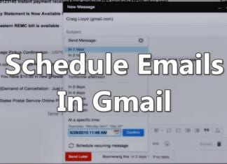 How To Schedule Emails In Gmail To Send Them Later