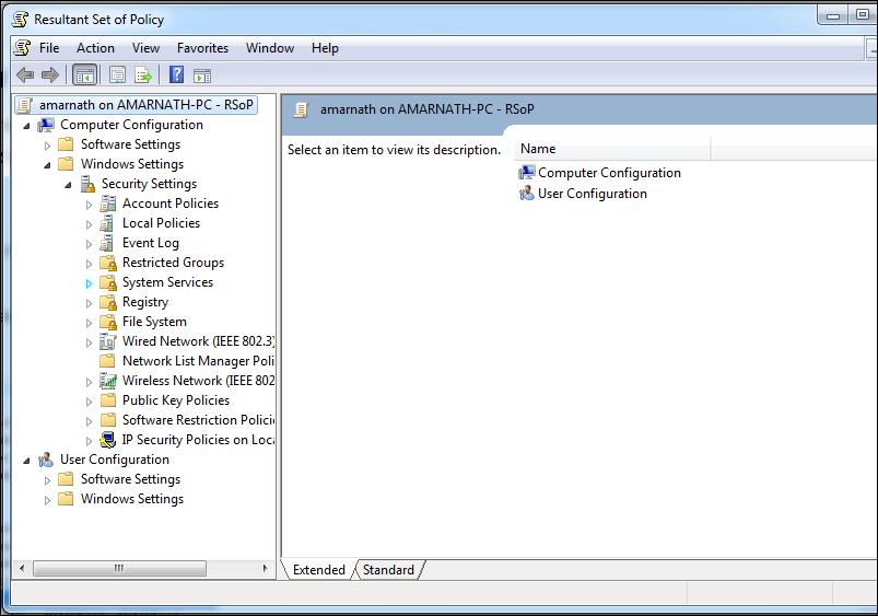 Using RSOP to Fix Windows Not Genuine Error