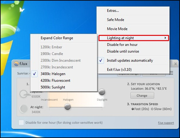 how to set computer to shutdown after download