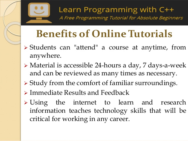 Benefits of Learning Programming Online
