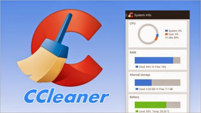 Clear App Cache Junk Files Using CCleaner
