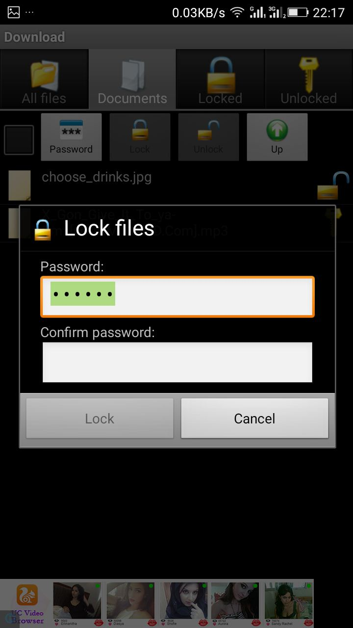 Secure Your Files With Password In Android