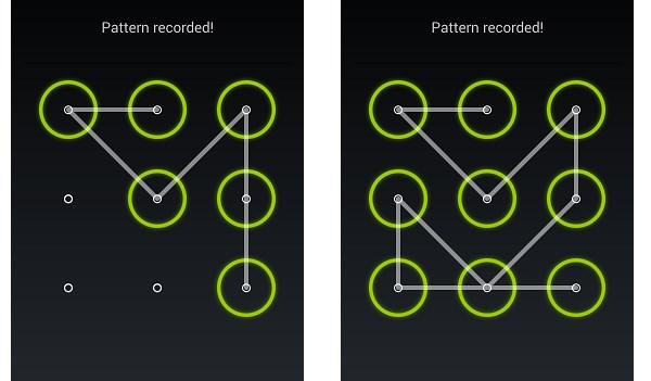Oubliez le motif de déverrouillage Android