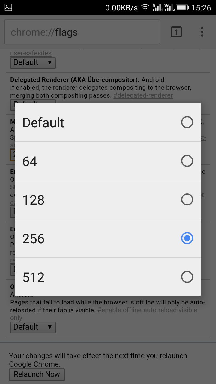 Make Google Chrome Browse Faster In Your Android