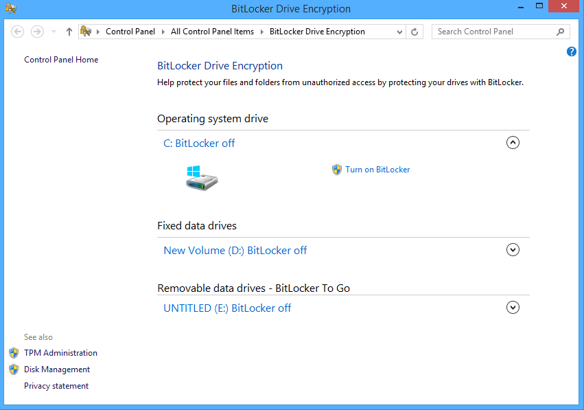 Secure Your External Hard Drive With BitLocker
