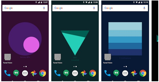 Set Android Wallpaper Into A Live Widget