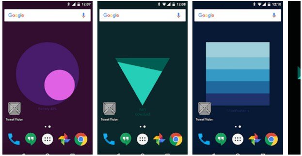 how to change widgets android