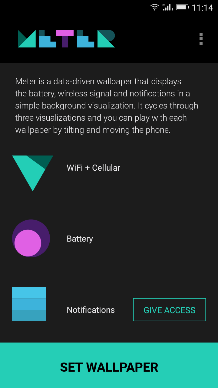 Set Android Wallpaper Into A Live Widget