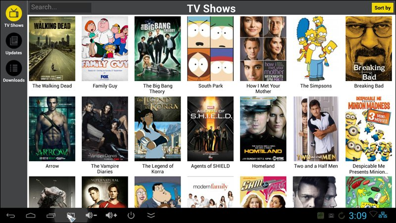 how do you watch free movies and tv shows on android