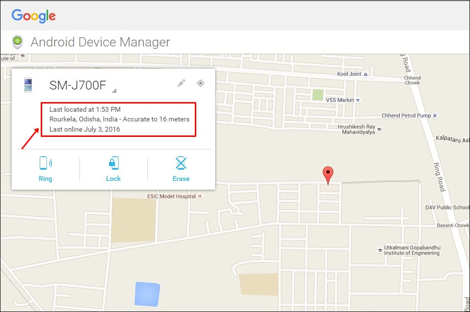 Track Your Lost Android From Google Device Manager