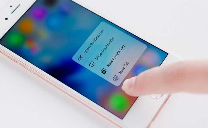 Add 3d touch in any iphone_