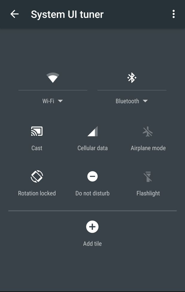android m status bar