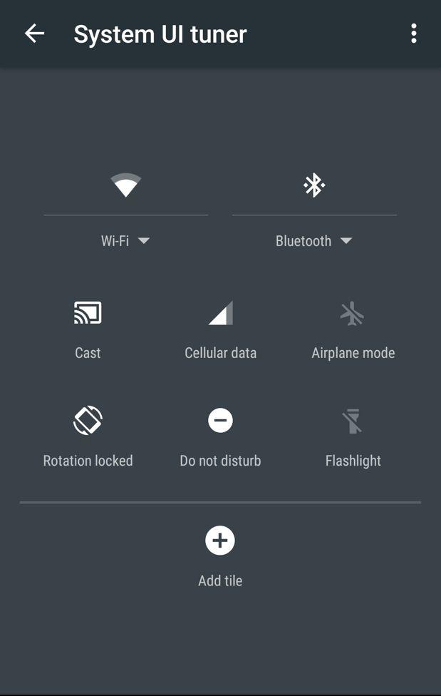 android m status bar