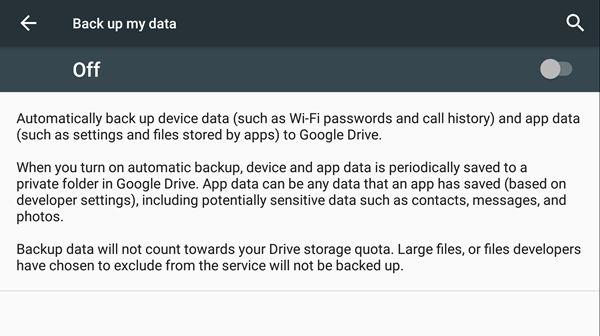 auto app data backup