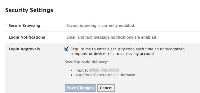 facebook authentication 2