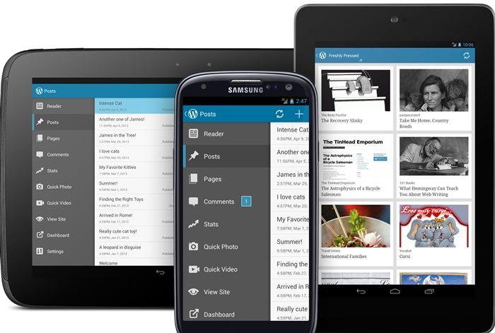 Host wordpress on android