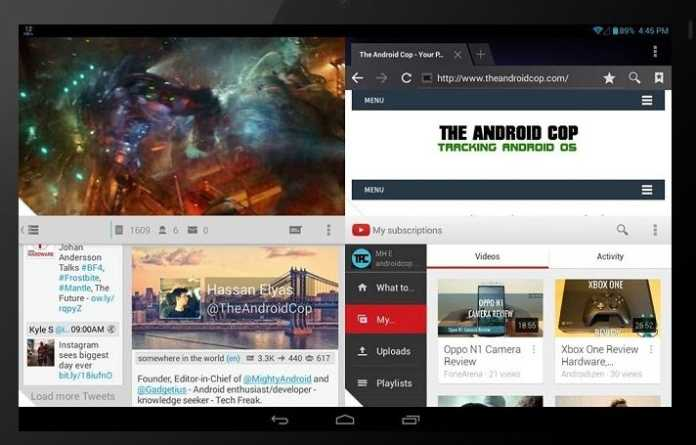 Install floating windows in android
