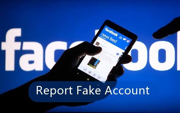 report accouunt as fake in facebook2