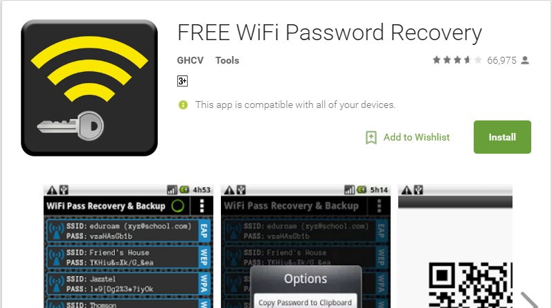 How To View Saved Wifi Passwords In Android