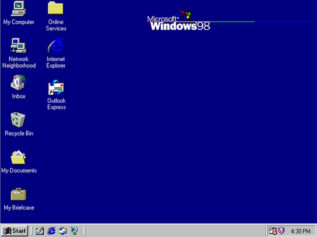 30 Years of Windows in 13 Different Versions - Windows 98