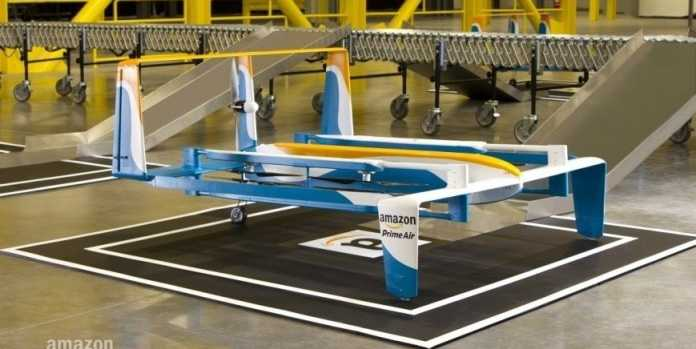 Amazon New Delivery Zone With Cyber Monday Drone