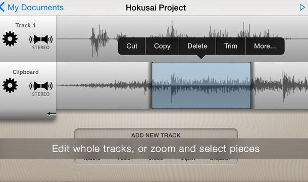 Applications d'édition audio 3 Techviral