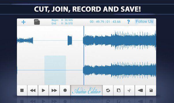 Applications d'édition audio 5 Techviral