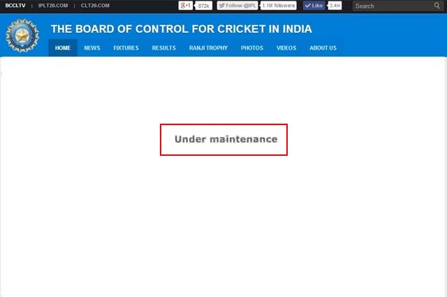 BCCI Hired UK Security Surveillance Company For Hacking Activity in India