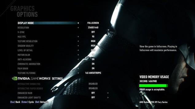 Batman Arkham Knight PC Performance Revealed