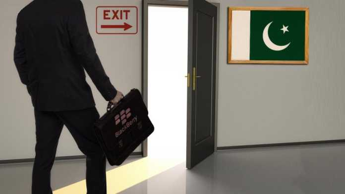 BlackBerry Finally Left Pakistan Over Government Security