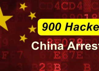 China Arrests 900 Hackers in Online Hacking Crackdown