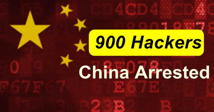China Arrests 900 Hackers in Online Hacking Crackdown