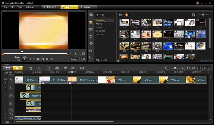 Corel Video Studio,Top 10 Video Editing Softwares For Windows