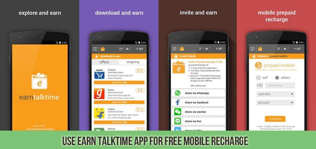 Earn Talktime App