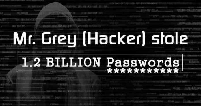 FBI Wanted Mr. Grey a Single Hackers Stolen 1.2 Billion Login Password