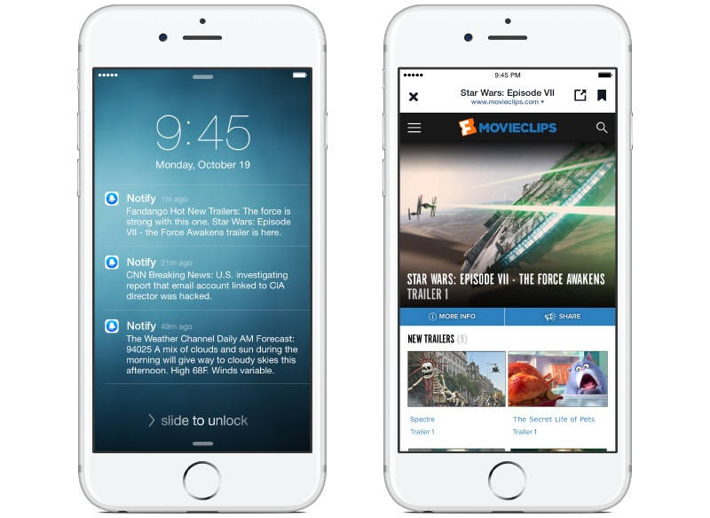 Facebook Launched Notify App in US For iPhone