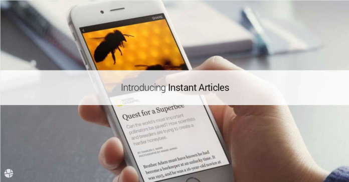 Facebook Launches Instant Articles For Indian Android Users