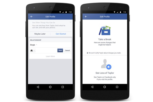 Facebook New Tool Can Help You Get Over Your Ex