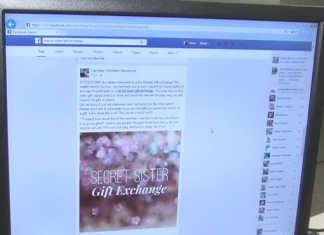 Facebook Scam Alert 'Secret Sister Gift Exchange'