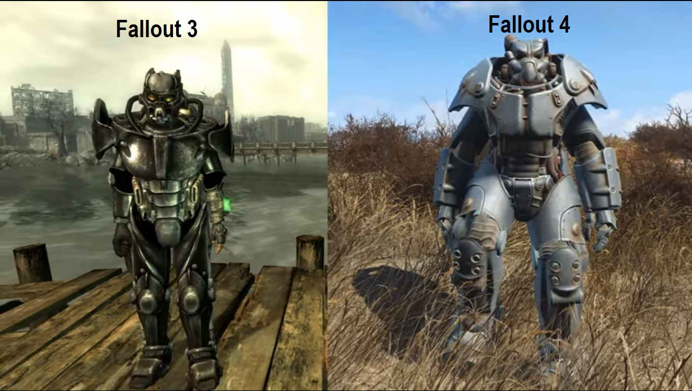Fallout 4 total game play with differences in fallout 3 video thecheapjerseys
