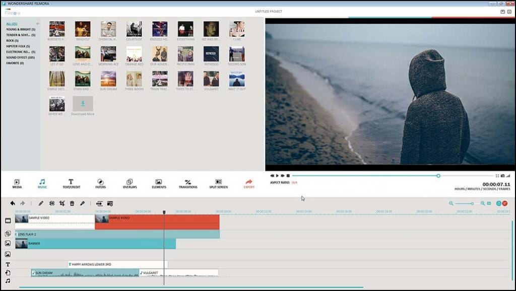 Filmora Video Editor, Top 10 Video Editing Softwares For Windows