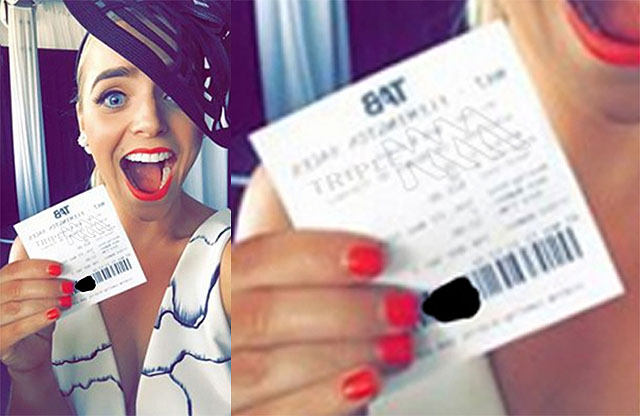 Girl Won Horse Racing Prize But Because of Selfie She Lost Everything