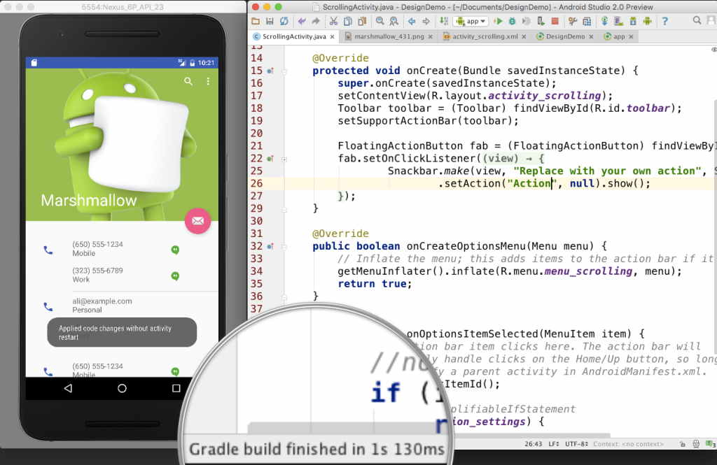 Google Launched Latest Version Android Studio 2.0 Emulator