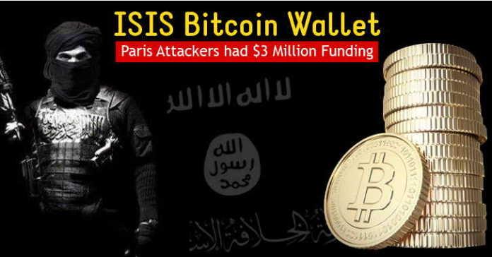 Hacker Group Revealed ISIS Secret Bitcoin Address Having $3 Million