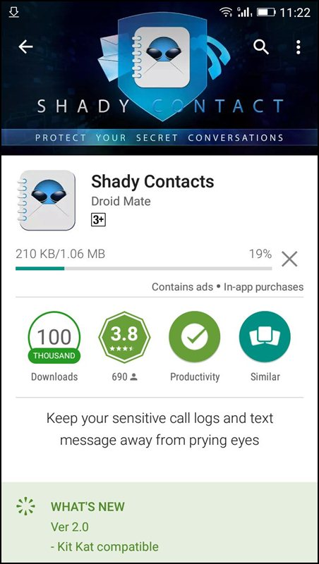 Hide Calls and SMS Logs from Specific People In Android